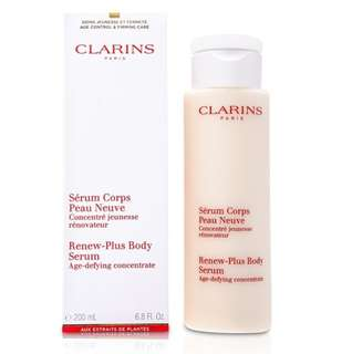 Clarins Renew Plus Body Serum 200ml