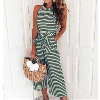 🧡 Stripe jumpsuit