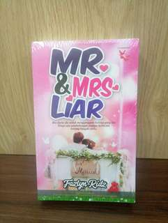Novel MR & MRS LIAR - Fazlyn Ridz