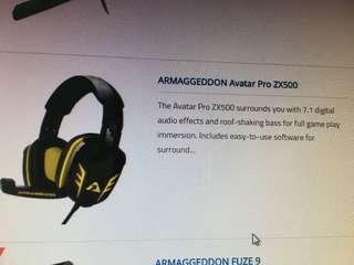 Armageddon Avartar Pro ZX500