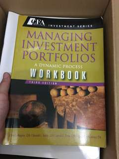 Managing Investment Portfolios Workbook