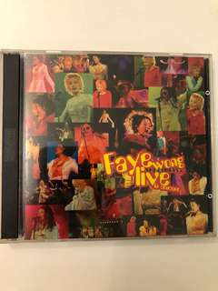 Faye Wong Live In Concert CD Album