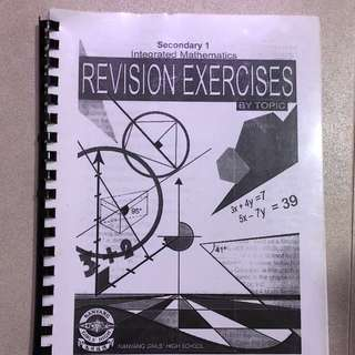 Sec 1 NYGH revision exercises