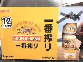 麒麟一番搾 啤酒 14罐