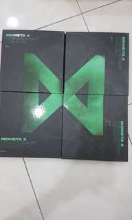 MONSTA X THE CONNECT: DEJAVU Album NO PHOTOCARD