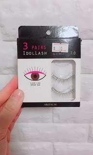 🚚 🌸 Idollash False Eyelashes no.6 daily 7.0