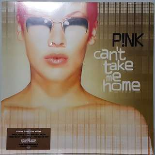 Vinyl Double LP : P!NK - Can't Take Me Home (Limited Edition Gold Vinyl)