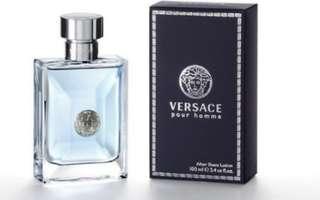 Versace Pour Homme after shave lotion