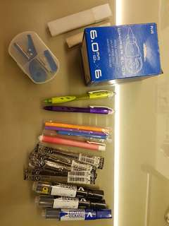 Brand new Stationery and refills