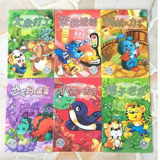 🚚 Chinese Storybooks with direct English translation (Level 2-3)