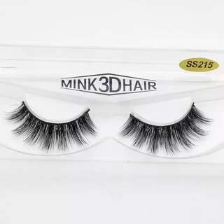 🚚 🌸 [SALE] Black Natural Thick Mink Eyelash - SS215