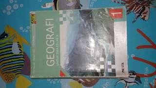 Buku Geografi SMA kelas 10 Erlangga