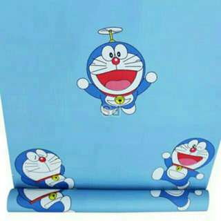 Wallpaper Sticker Dinding Uk 45cm x 10meter Doraemon