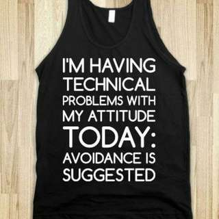 Technical Today Singlet Apparel Clothing Tshirt Tee