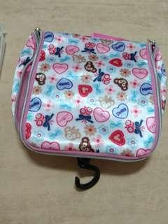 🚚 香港迪士尼 達菲熊 旅行 包 盥洗包 包包 化粧包