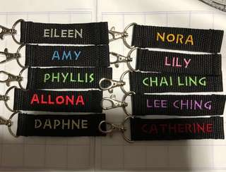 🚚 Keychains handmade customise it with names at affordable price birthday teachers day children day