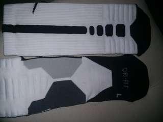 Basketball socks! 🏀 Nike Hyper Elite!! One pair left!!!;black & white