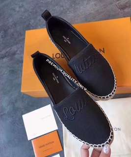Louis Vuitton LV Shoes- Black