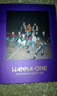 WANNA ONE NOTHING WITHOUT YOU Unsealed Album