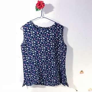 Baju atasan top wanita ucs tanktop blouse bangkok chiffon murah