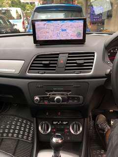 Audi q3 8.8寸大面板,內置安卓,導航,藍芽,倒車鏡頭,