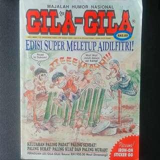 Gila Gila vol 465 edisi bumper raya tahun 1998