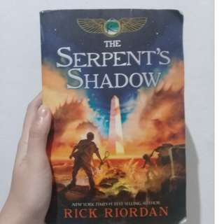 Kane chronicles  (The Serpent's Shadow)