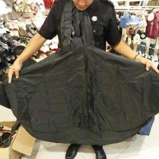 Cotton on rubi black rain poncho jacket