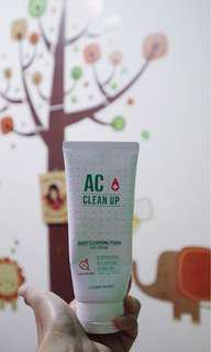 AC Clean Up Cleansing Foam by Etude House