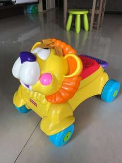 Fisher Price Stride To Ride Lion Walker