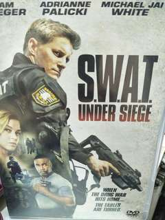 S. W. A. T.  Under siege movie DVD