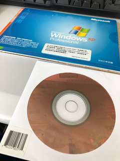 正版 Window XP with CD & Key