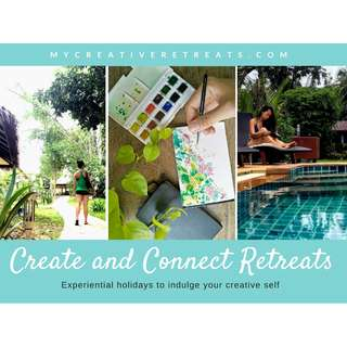 7D6N Creative retreats holiday to uncover your creative self