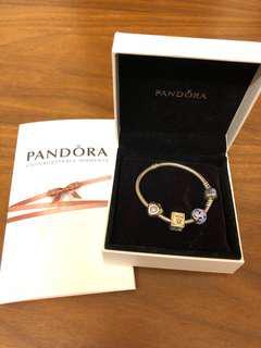 🚚 PANDORA 潘朵拉手鏈 純銀手鏈和吊飾