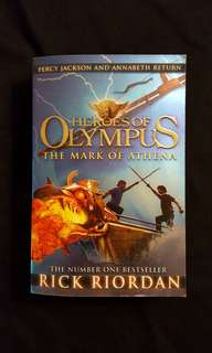 Heroes of Olympus ~ The Mark Of Athena (book 3) by Rick Riordan #July100