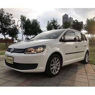 2012 VW TOURAN 1.6 TDI 全原廠保養~