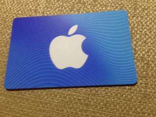 Fifty Dollar ITunes card