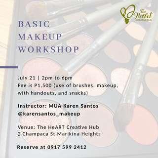 Art and Makeup Workshops