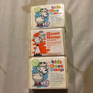 Goat Soap Kids and Oatmeal