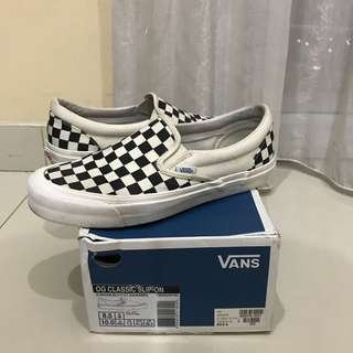 Vans Vault Slip On OG Checkerboard 8.5US