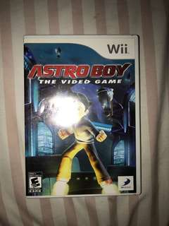 Nintendo Wii Astro Boy The Video Game