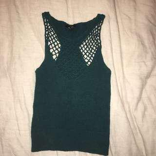 Green Knit Singlet