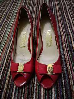 Red high heels (free ongkir)