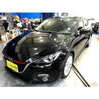 Mazda 魂動馬3 2017 僅跑4萬