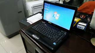 Laptop Toshiba Satellite L150 core i3 ram 2GB bluetooth