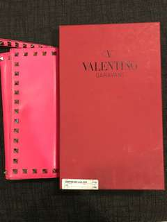 Authentic Valentino wallet clutch
