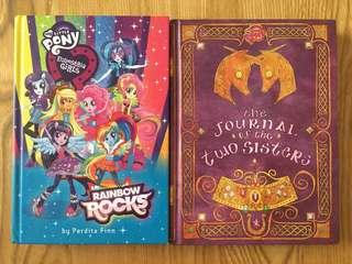 2 My Little Pony Hardcover Books