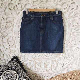 Perfect Denim Skirt