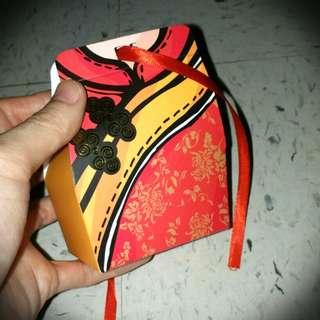 中國唐裝衫旗袍紙盒 Chinese Dress Gift Box