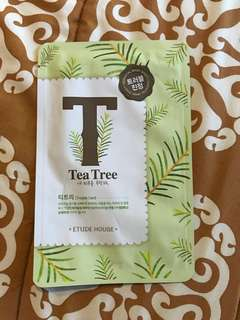 Tea tree etude house mask
